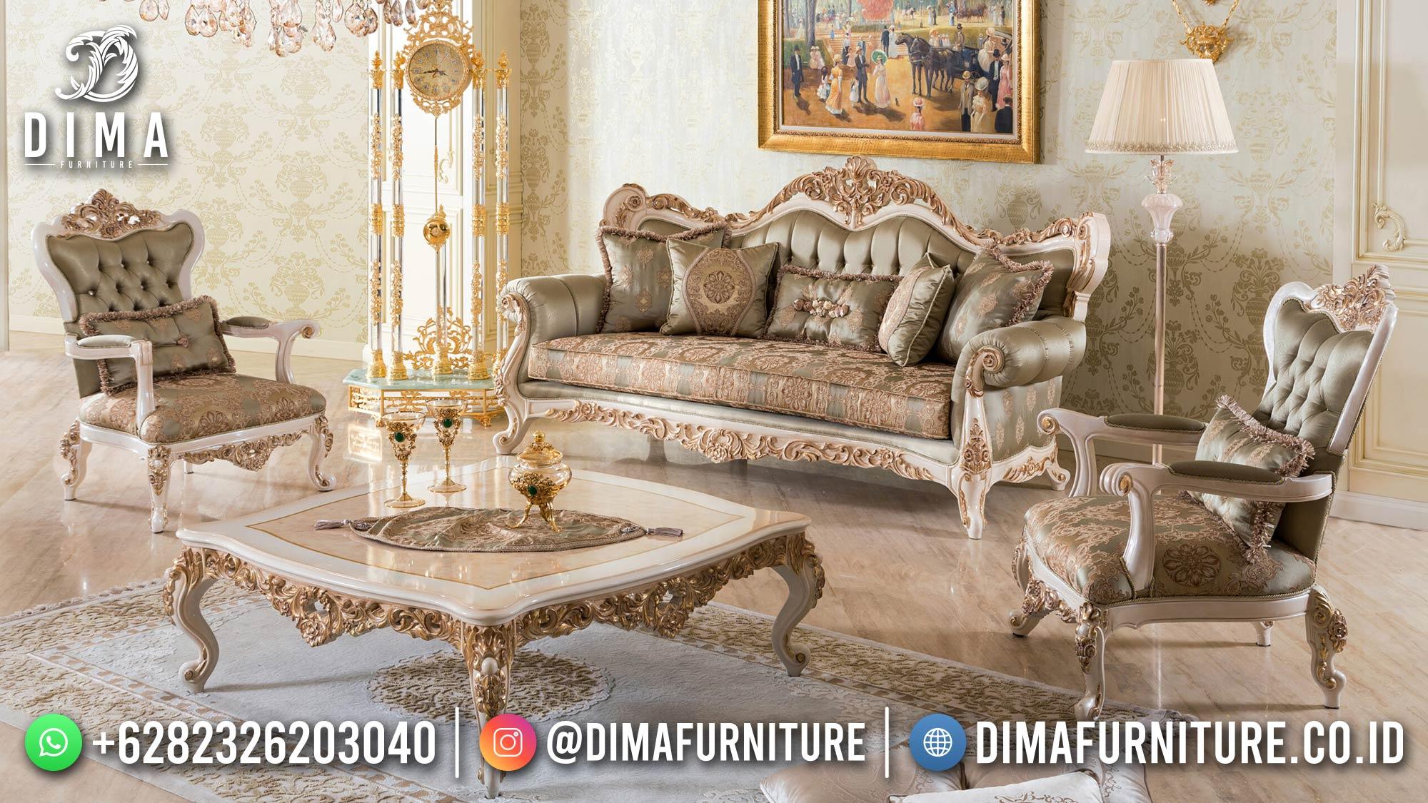 Classic Luxury Sofa Tamu Mewah Ukir Jepara Great Design ST-1430