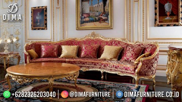 Elegant Style Sofa Tamu Ukir Jepara Luxury Carving High Quality ST-1432