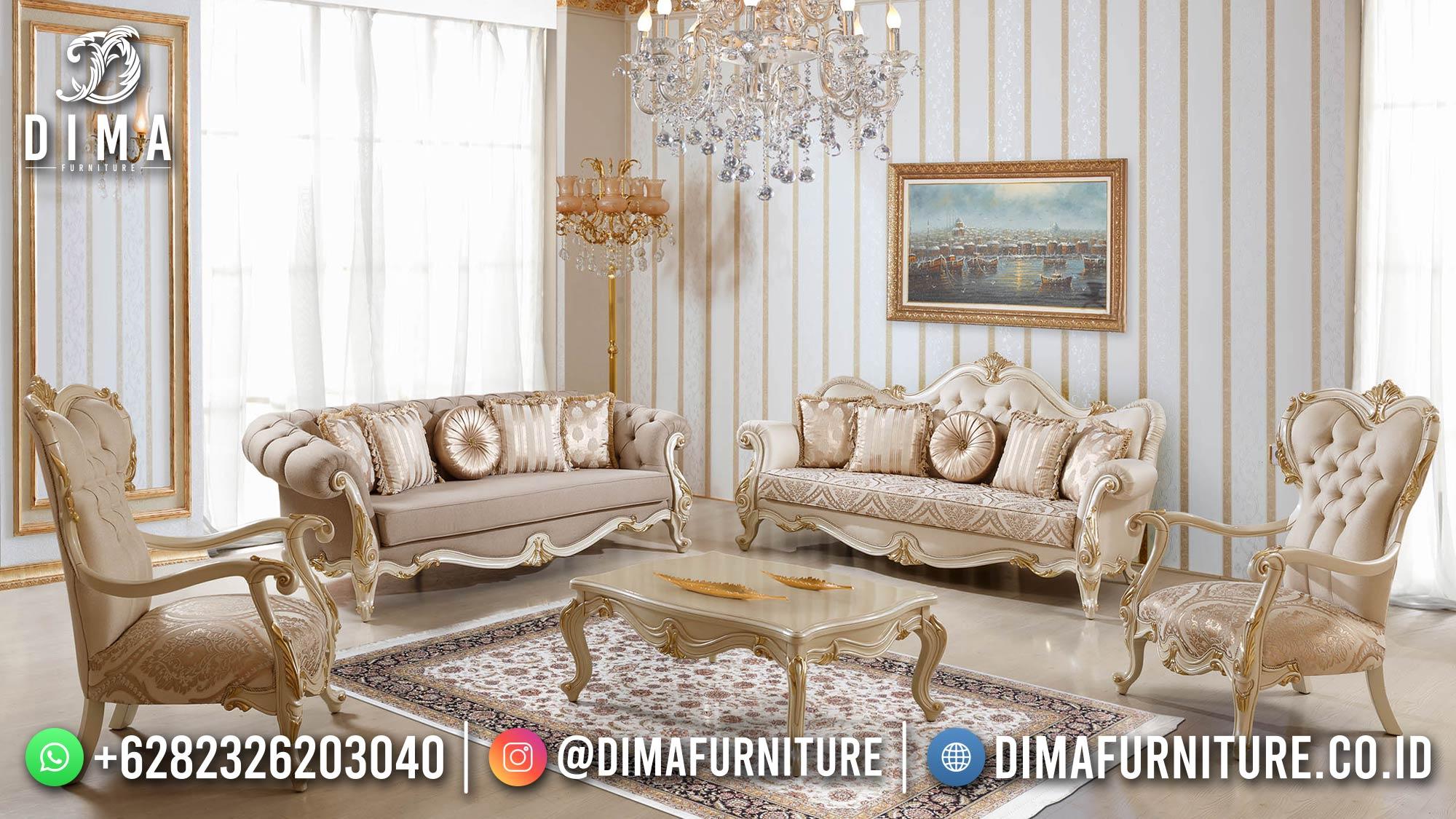 For Sale Sofa Tamu Jepara Terbaru Elegant Style Best Furniture Jepara ST-1433