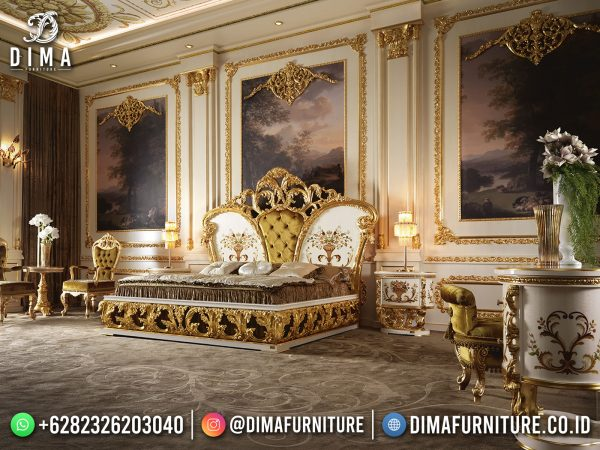 Greatest Style Tempat Tidur Jepara Luxury Carving 100 % High Quality ST-1425