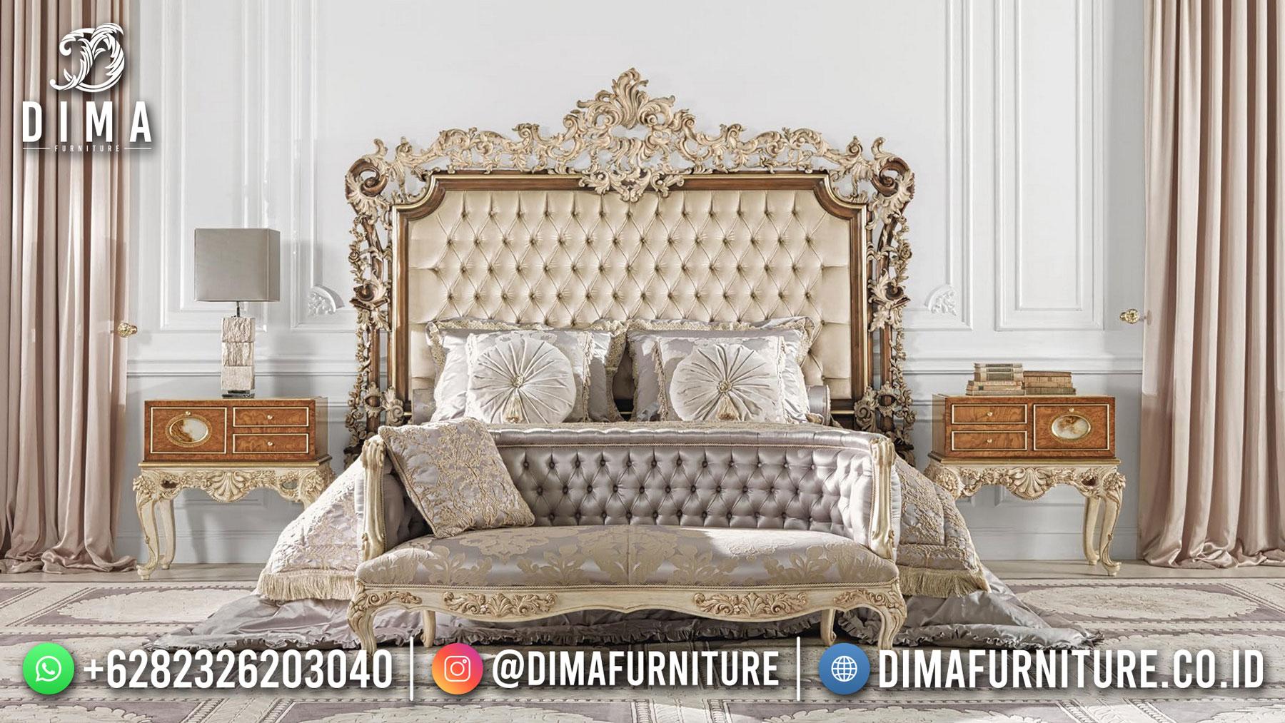 Harga Set Kamar Tidur Mewah Ukiran Jepara Luxury Great Duco Color ST-1422