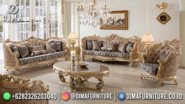 Model Sofa Tamu Mewah Terbaru Luxurious Design Excellent Color ST-1427