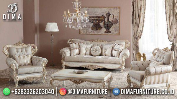 New Sofa Tamu Mewah Terbaru Luxury Carving Magdalena Style ST-1438