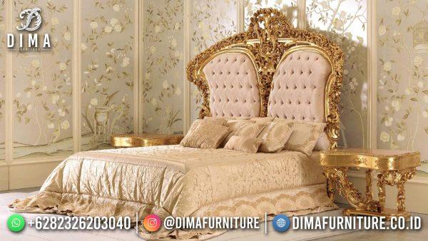 Set Tempat Tidur Mewah Jepara Luxury Golden Duco Excellent Color ST-1418