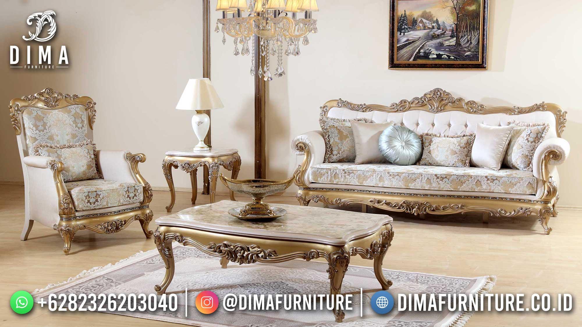 Sofa Tamu Mewah Jepara Golden Luxury Color Great 100 % High Quality ST-1459