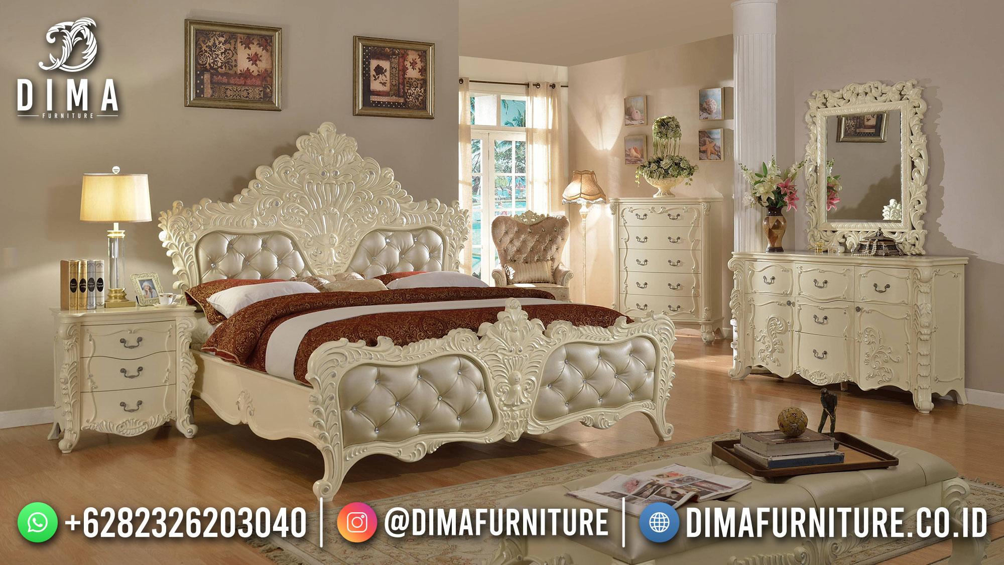 Tempat Tidur Mewah Classic Luxury Furniture Jepara Classic Elegant ST-1403