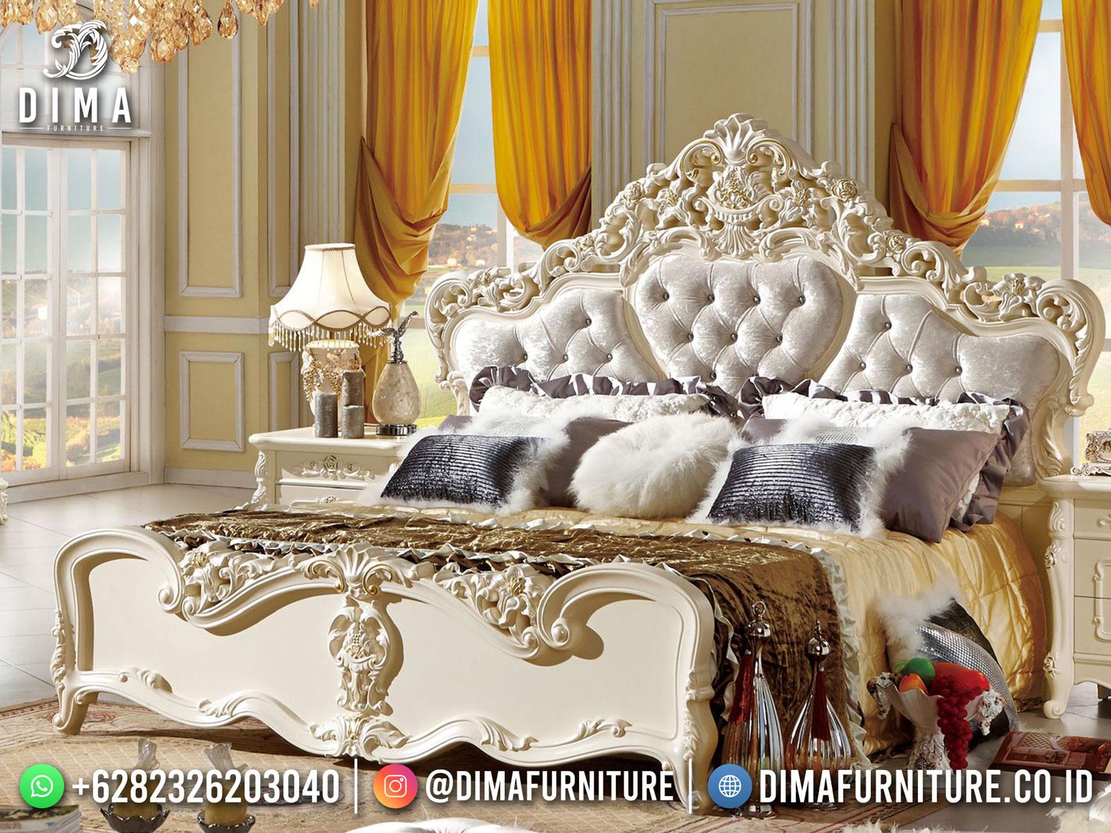Tempat Tidur Mewah Vanesha New Luxury Carving Furniture Jepara ST-1426