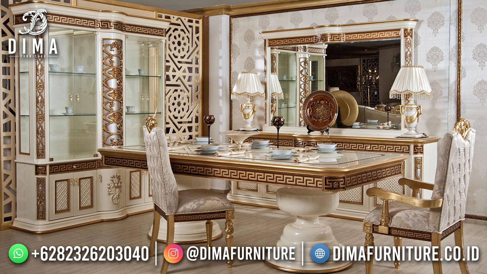 Harga Meja Makan Mewah Ukiran Classic Jepara Elegant Style ST-1494