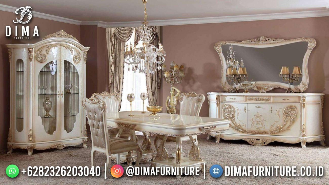 Jual Meja Makan Mewah Classic Luxury Elegant Duco Color ST-1467
