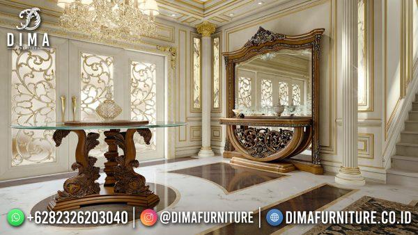 New Meja Konsul Mewah Ukir Jepara Luxurious Set ST-1483