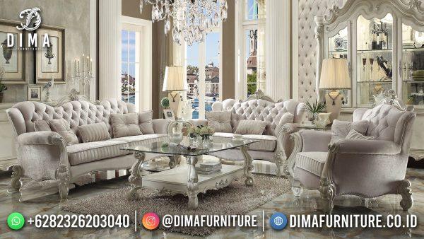 Sofa Tamu Jepara Terbaru Best Seller Luxury Carving New Furniture Jepara ST-1461