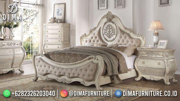 Beauty Design Tempat Tidur Mewah Olio Ivory Good Quality ST-1537