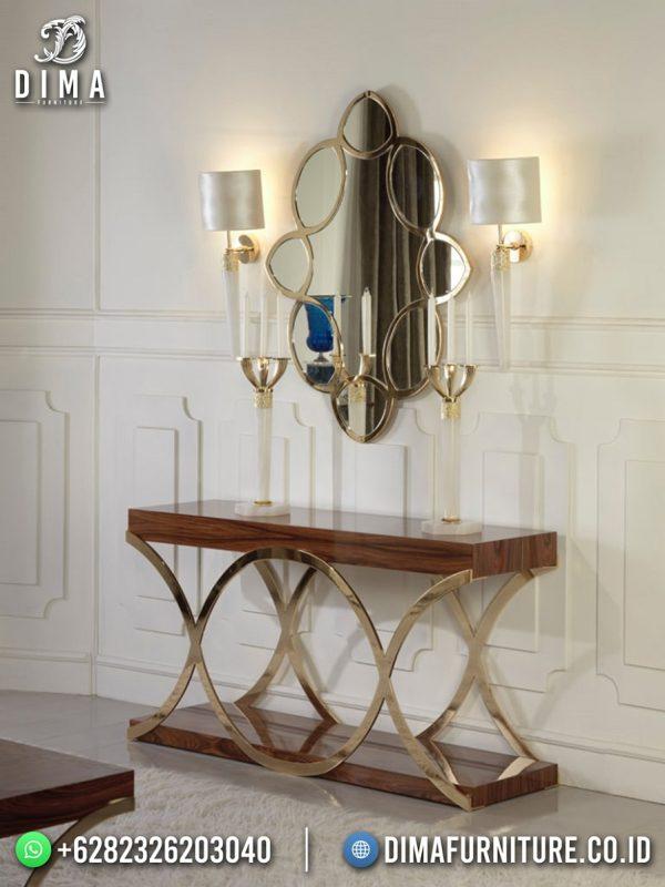 Best Seller Meja Konsul Minimalis Modern Luxurious Golden Shining Color ST-1522