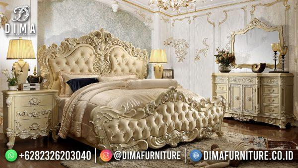 Dipan Ukiran Mewah Set Tempat Tidur Jepara Luxury Best Seller ST-1531