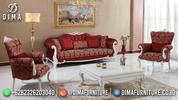 Donatella Style Sofa Tamu Mewah Jepara Luxury Carving Greatest ST-1497