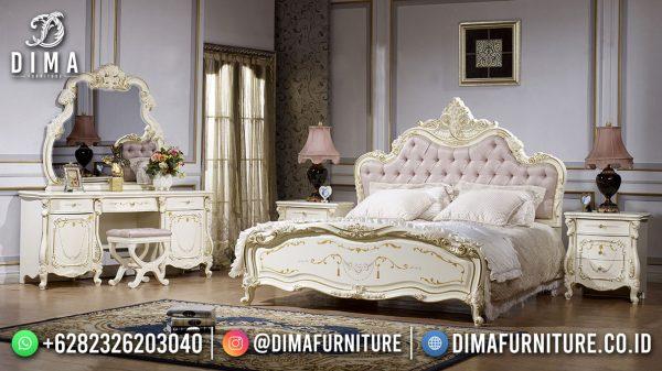 Gorgeous Desain Tempat Tidur Mewah Jepara Elegant Duco Color ST-1539