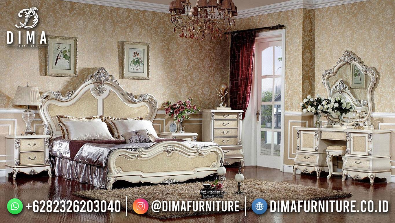 Jual Tempat Tidur Mewah Terbaru Desain Klasik Gaya Elegant ST-1545
