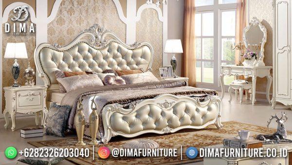 Kamar Set Mewah Terbaru Luxury Baroque Style Italian Carving Majestic ST-1552