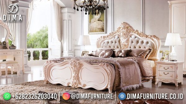 Model Tempat Tidur Mewah 100 % High Quality Design ST-1546