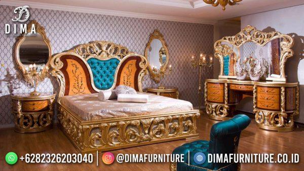 Model Tempat Tidur Ukiran Mewah Glorious Baroque Style Furniture Jepara ST-1549