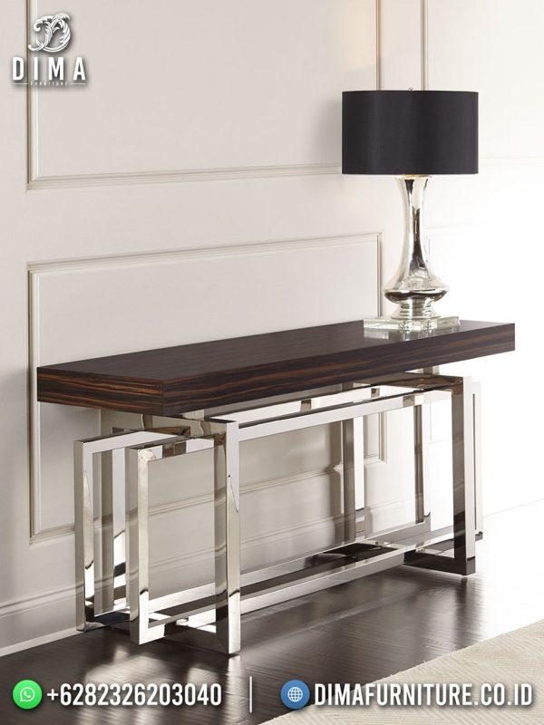 New Meja Konsul Minimalis Stainless Steel Elegant Design ST-1521
