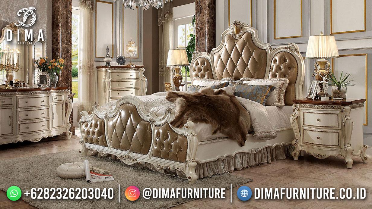 New Set Tempat Tidur Mewah Jepara Classic Luxury Carving ST-1542