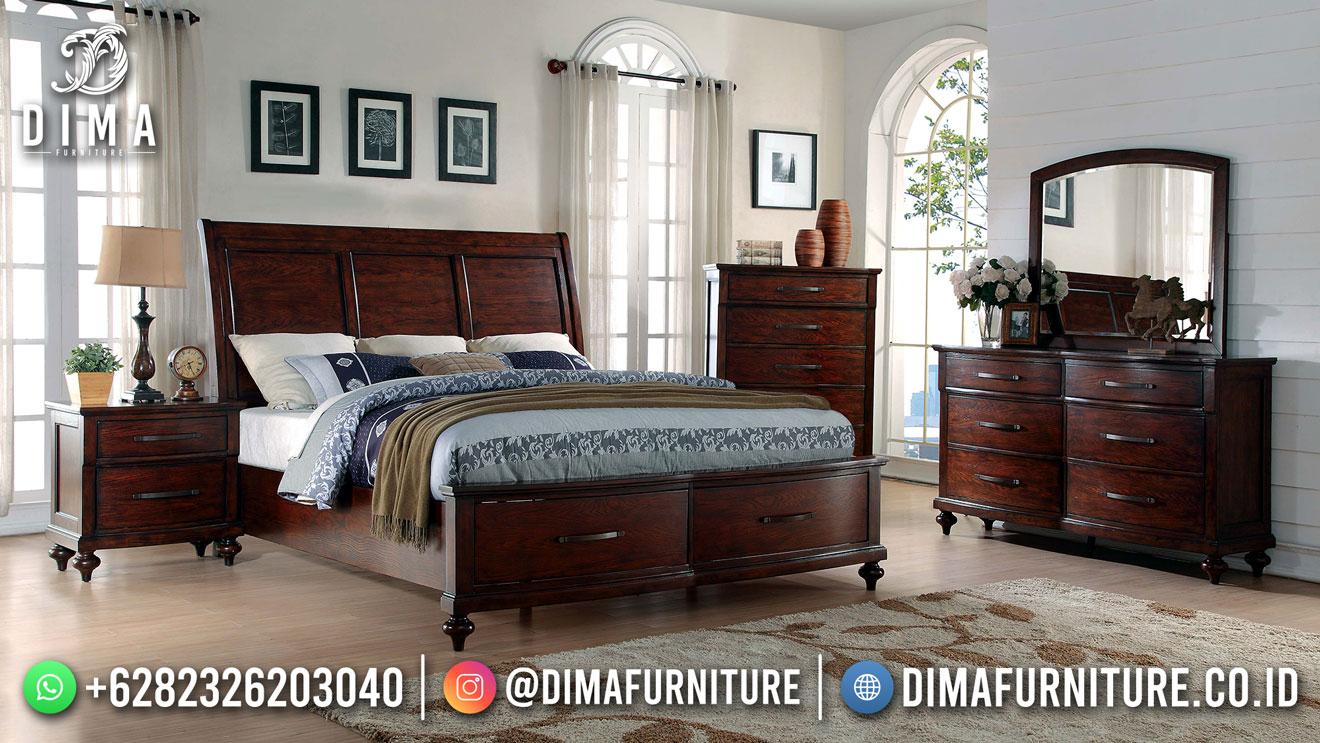 Perfect Design Tempat Tidur Minimalis Jati Jepara Best Quality ST-1555