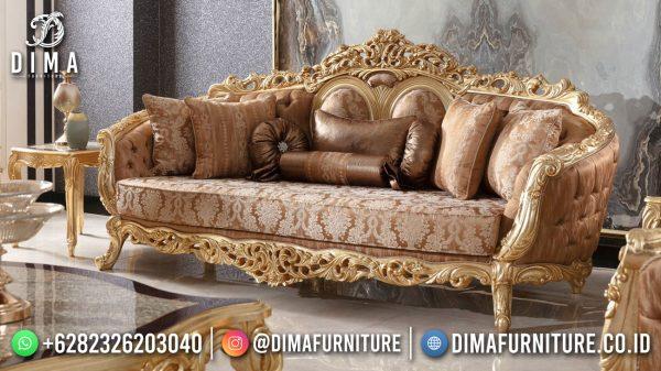 Set Sofa Mewah Ruang Tamu Luxurious Style ST-1517