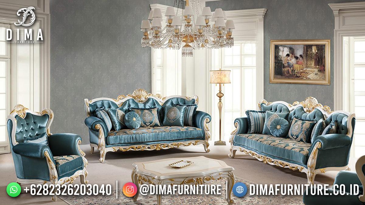 Set Sofa Ukiran Mewah Klasik Luxurious Majestic Design ST-1502