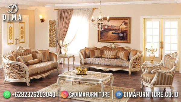 Sofa Tamu Mewah Ukiran Jepara Klasik Luxury Beauty Design ST-1496