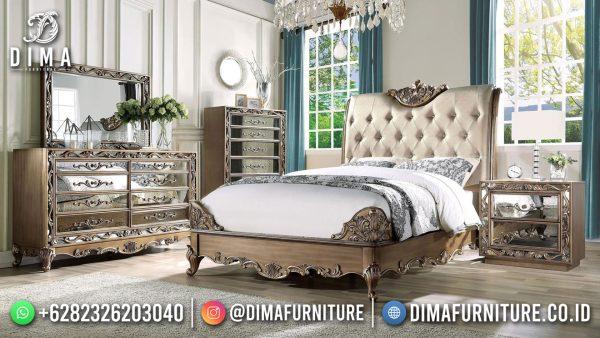 Tempat Tidur Mewah Klasik Luxury Carving Elegant Style Majestic ST-1528