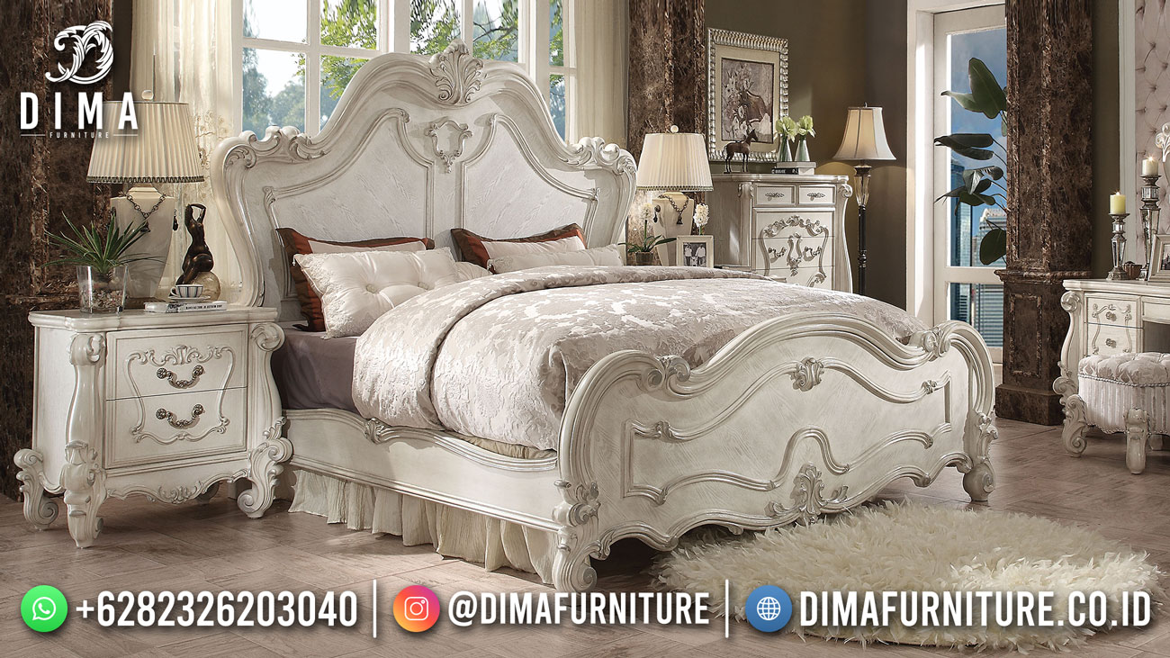 Tempat Tidur Mewah Terlaris Luxury Design High Quality ST-1538