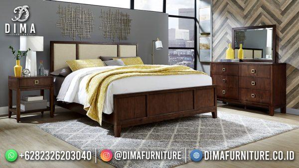 Tempat Tidur Minimalis New Design Classy Solid Wood ST-1556