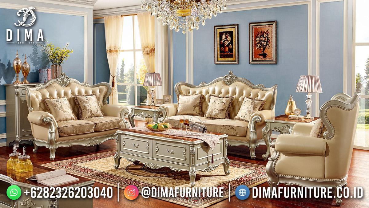 Beauty Duco Shinning Sofa Tamu Jepara Terbaru High Quality ST-1593