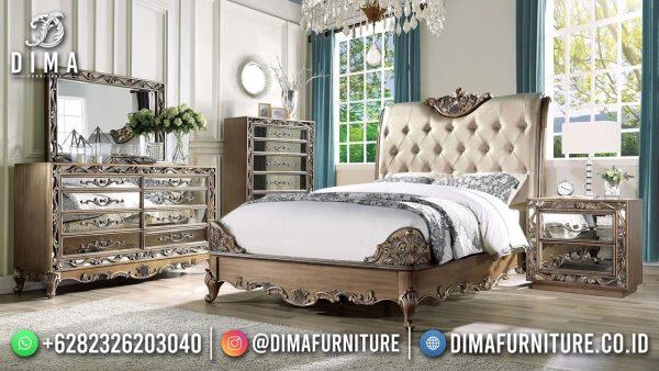 Best Selling Tempat Tidur Mewah Jepara High Quality ST-1577