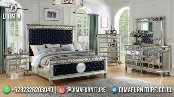 Black Elegant Design Tempat Tidur Terbaru Furniture Jepara ST-1576