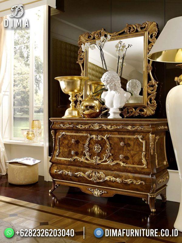 Elegant Classy Meja Konsol Natural Jati Jepara High Quality ST-1583