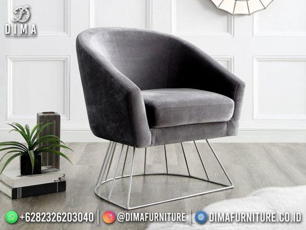 Elegant Style Sofa Minimalis Jepara Industrial Furniture Kekinian ST-1580