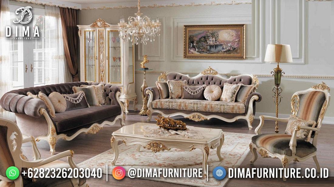 Kursi Sofa Mewah Terbaru Exclusive Rainbow Colour ST-1569