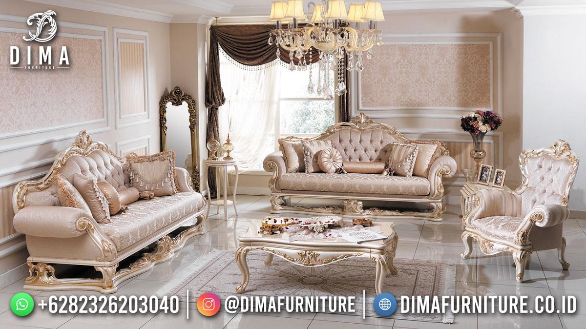 Kursi Sultan Sofa Tamu Mewah Luxury Carving Furniture Jepara ST-1567