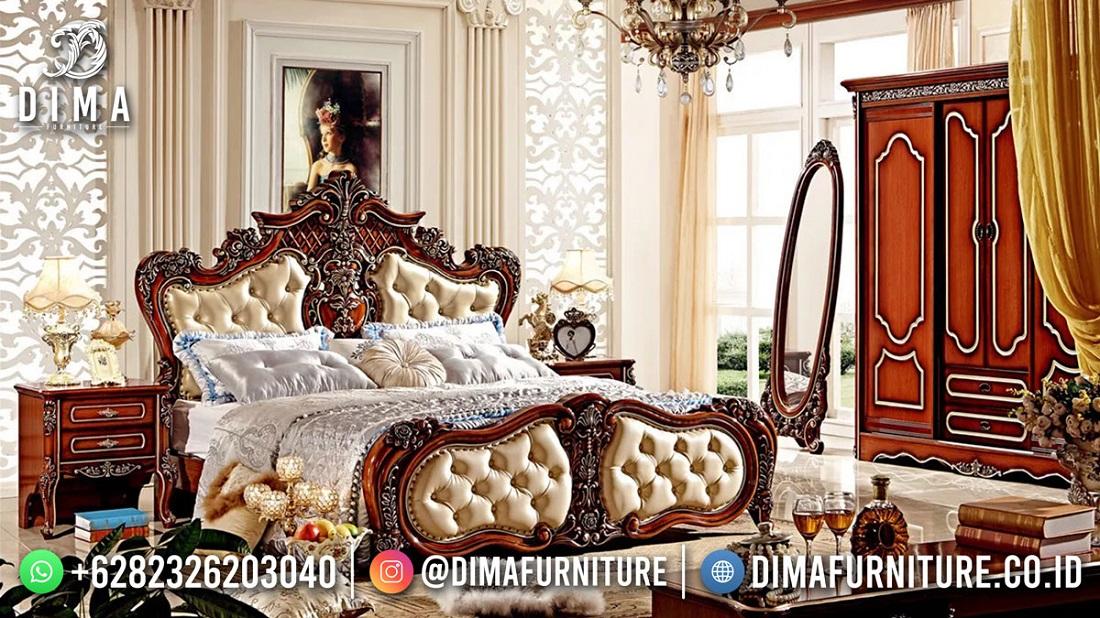New Model Kamar Set Mewah Jepara 100% High Quality ST-1578