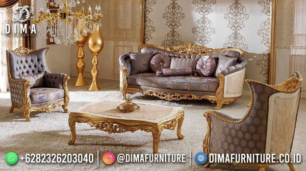 New Product Sofa Tamu Mewah Jepara Luxury Carving Gold ST-1566
