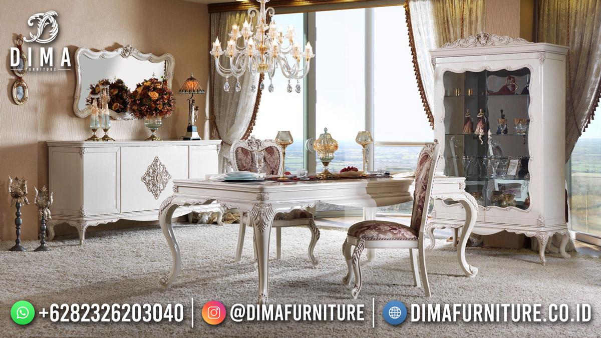 Set Meja Makan Terbaru Kota Bandung Classic Design Furniture ST-1573