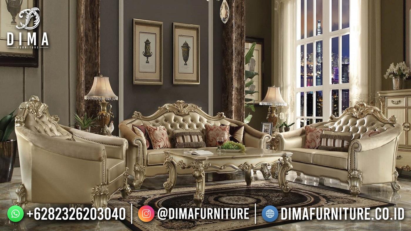 Set Sofa Tamu Mewah Classic Shinning Glamour ST-1570