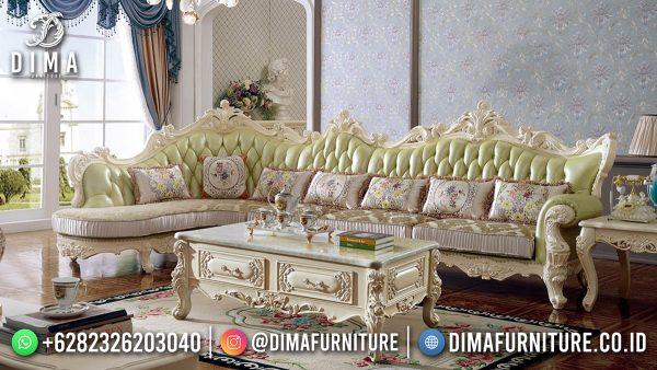 Sofa Tamu Terbaru Model Sudut Modern Design High Quality ST-1587