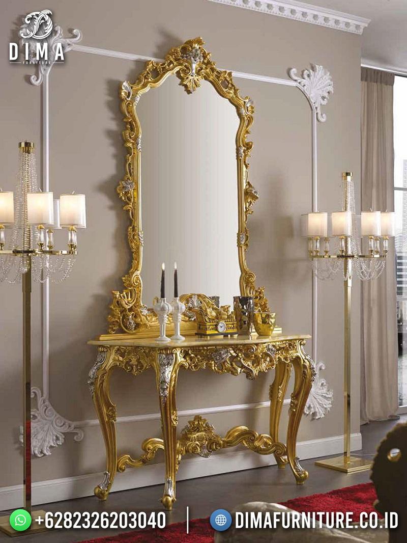 Amazing Design Meja Konsul Mewah Jepara Best Quality Meubel ST-1629