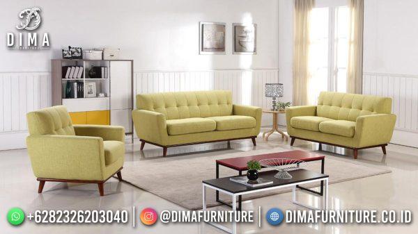 Elegant Lemonade Kursi Tamu Terbaru Minimalis Solid Wood Recomanded ST-1644