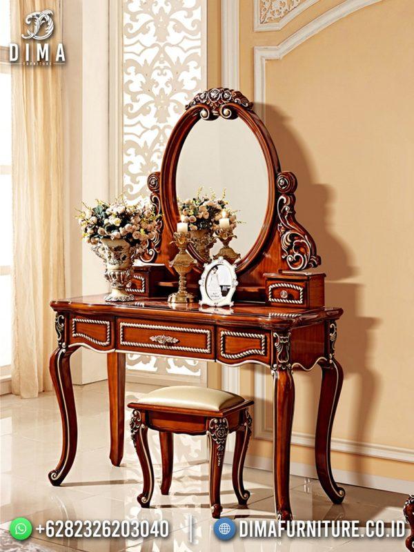 Elegant Meja Rias Terbaru Jepara Ukiran Combination Color Mebel Jepara ST-1632