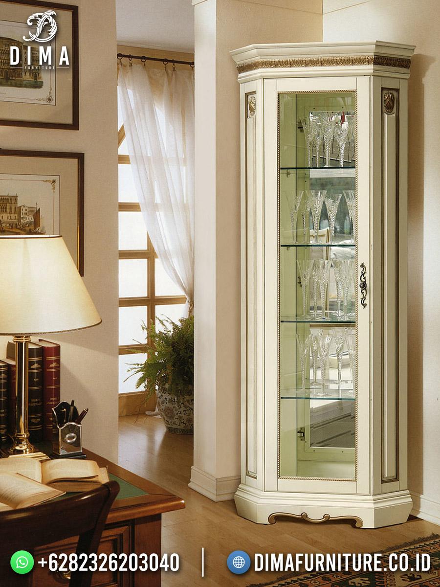 Eropa Style Lemari Hias Terbaru Design Beauty Minimlist ST-1605