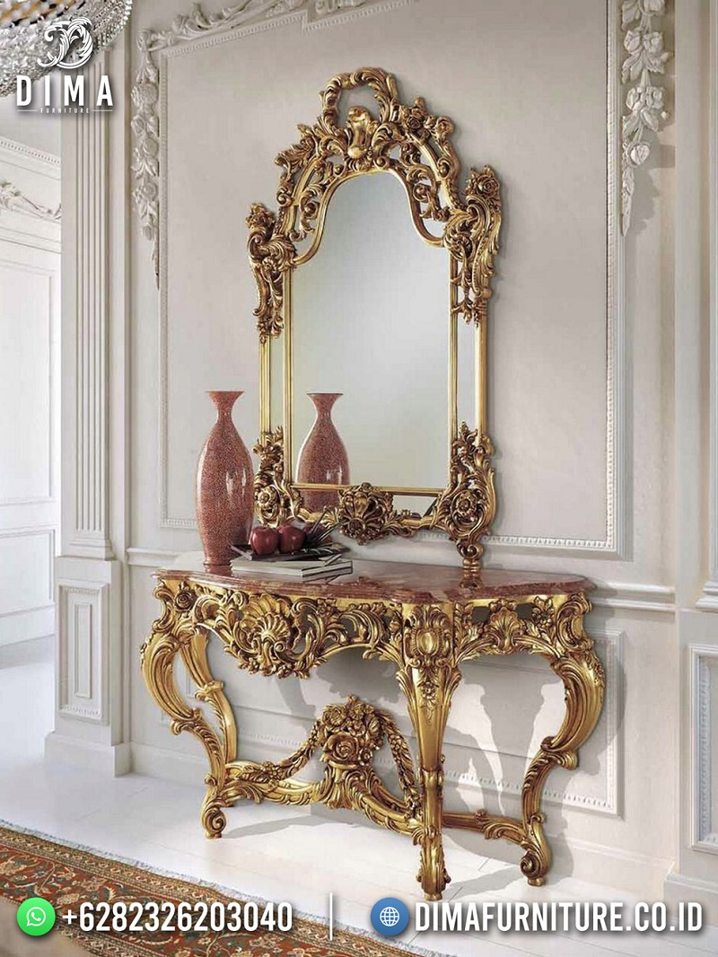 Golden Rich Set Meja Konsul Mewah Terbaru Best Product Furniture Jepara ST-1626